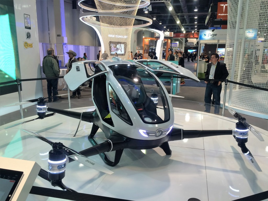 Drone Ehang CES 2016
